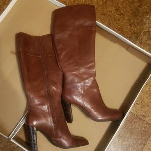 Shoes - GUC Genuine leather knee high boots